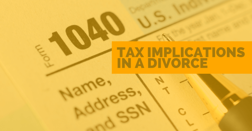 How the New Tax Law Impacts Divorce